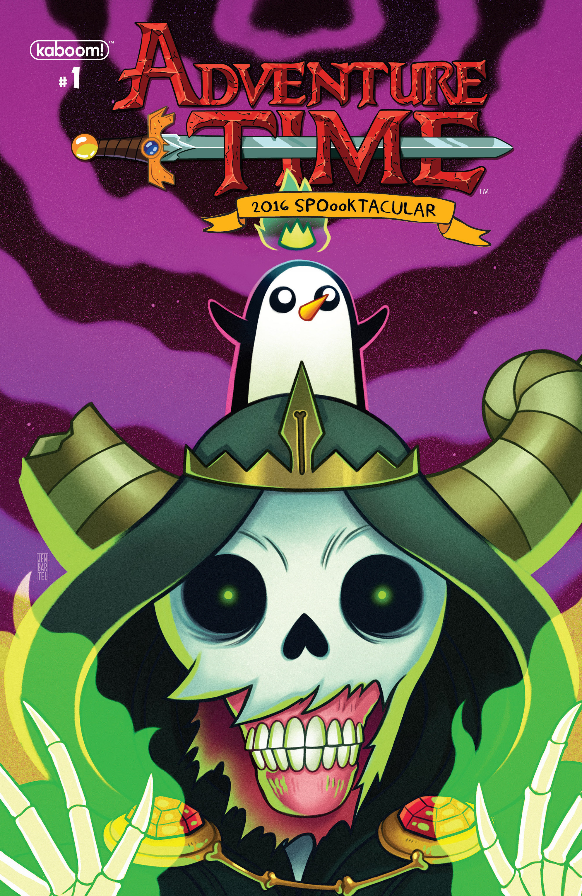 Adventure Time 2016 Spoooktacular Annual Page 1