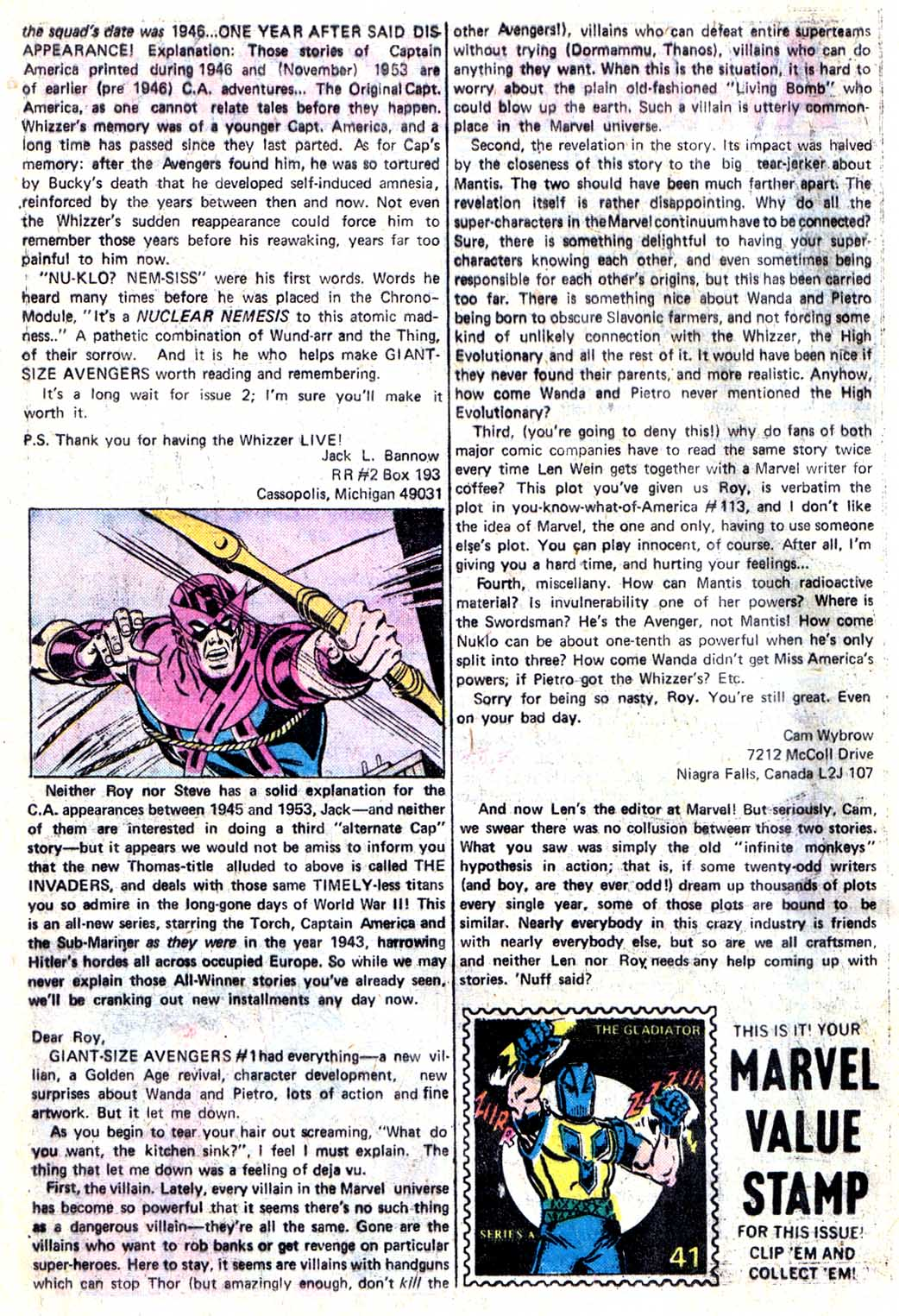 Giant-Size Avengers (1974) issue 3 - Page 44