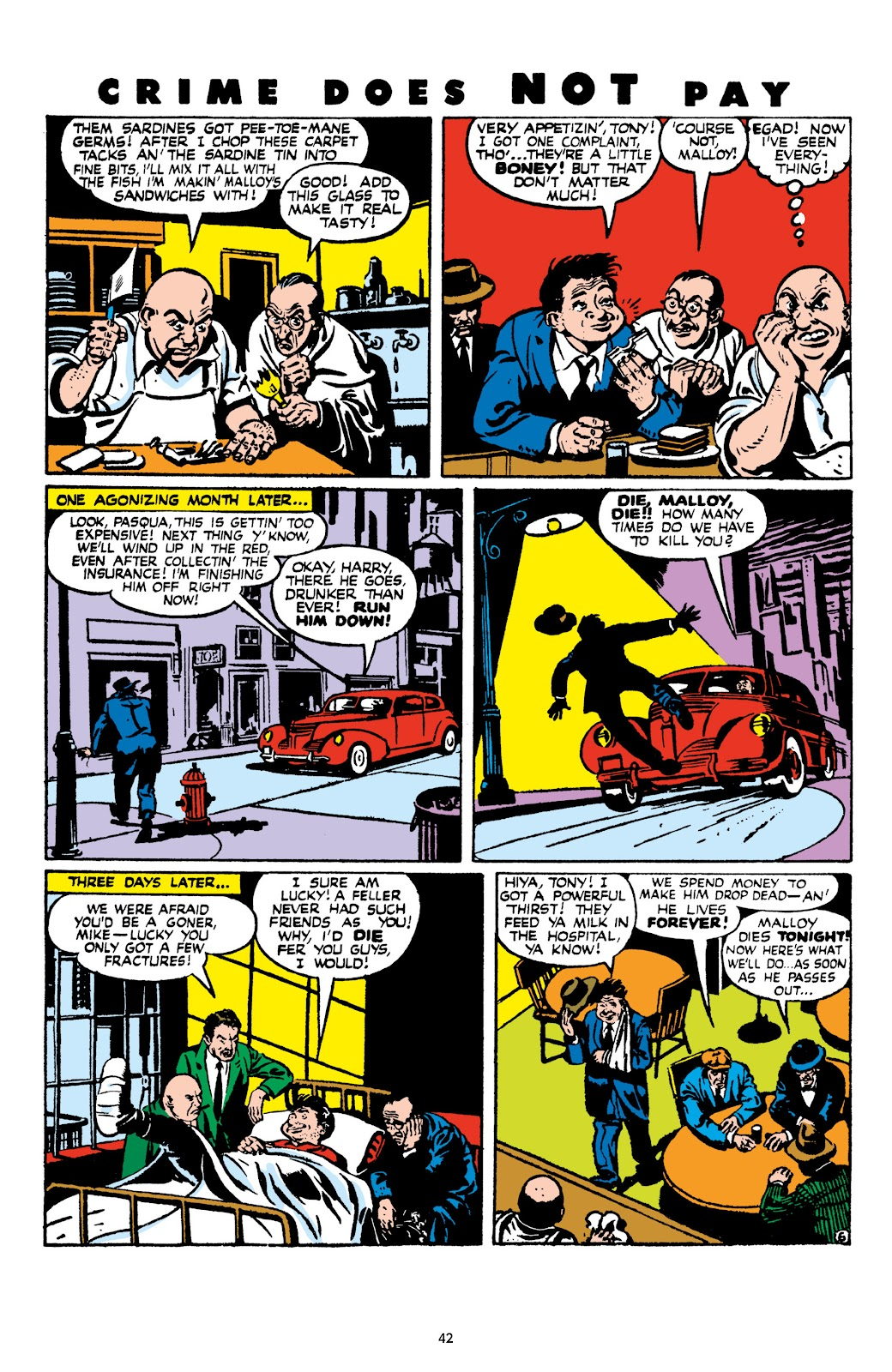 Read online Crime Does Not Pay Archives comic -  Issue # TPB 9 (Part 1) - 44