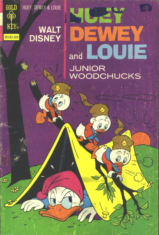 Huey, Dewey, and Louie Junior Woodchucks 22 Page 1