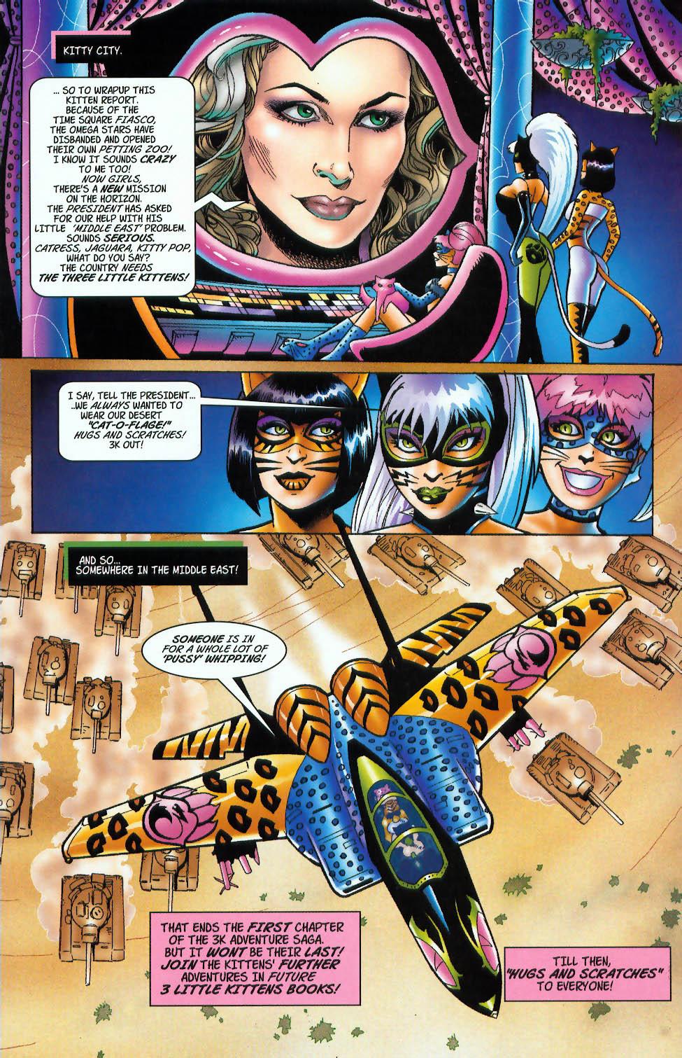 Read online 3 Little Kittens: Purrr-fect Weapons comic -  Issue #3 - 24