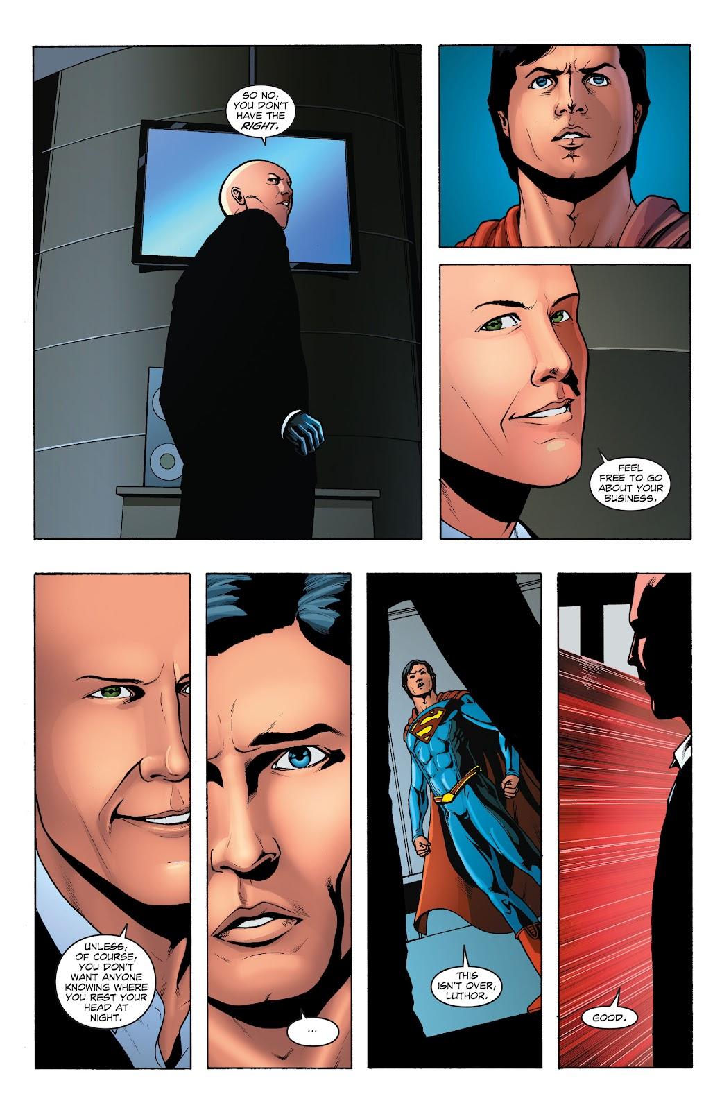 Read online Smallville Season 11 [II] comic -  Issue # TPB 1 - 126