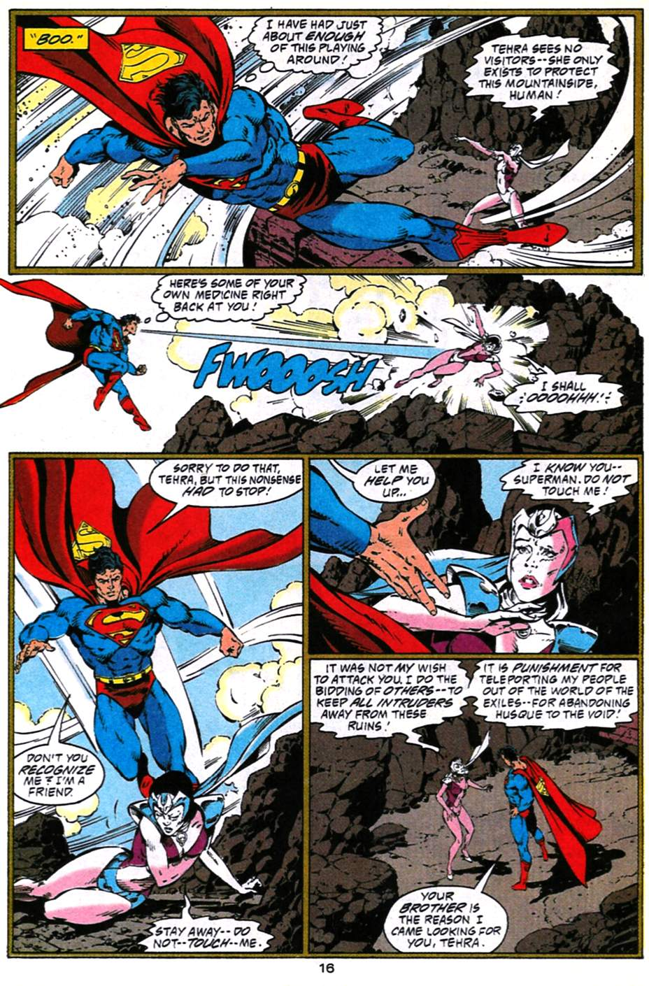 Read online Adventures of Superman (1987) comic -  Issue #490 - 17