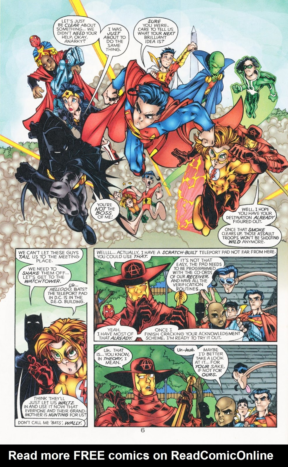 Sins of Youth issue JLA Jr. - Page 10