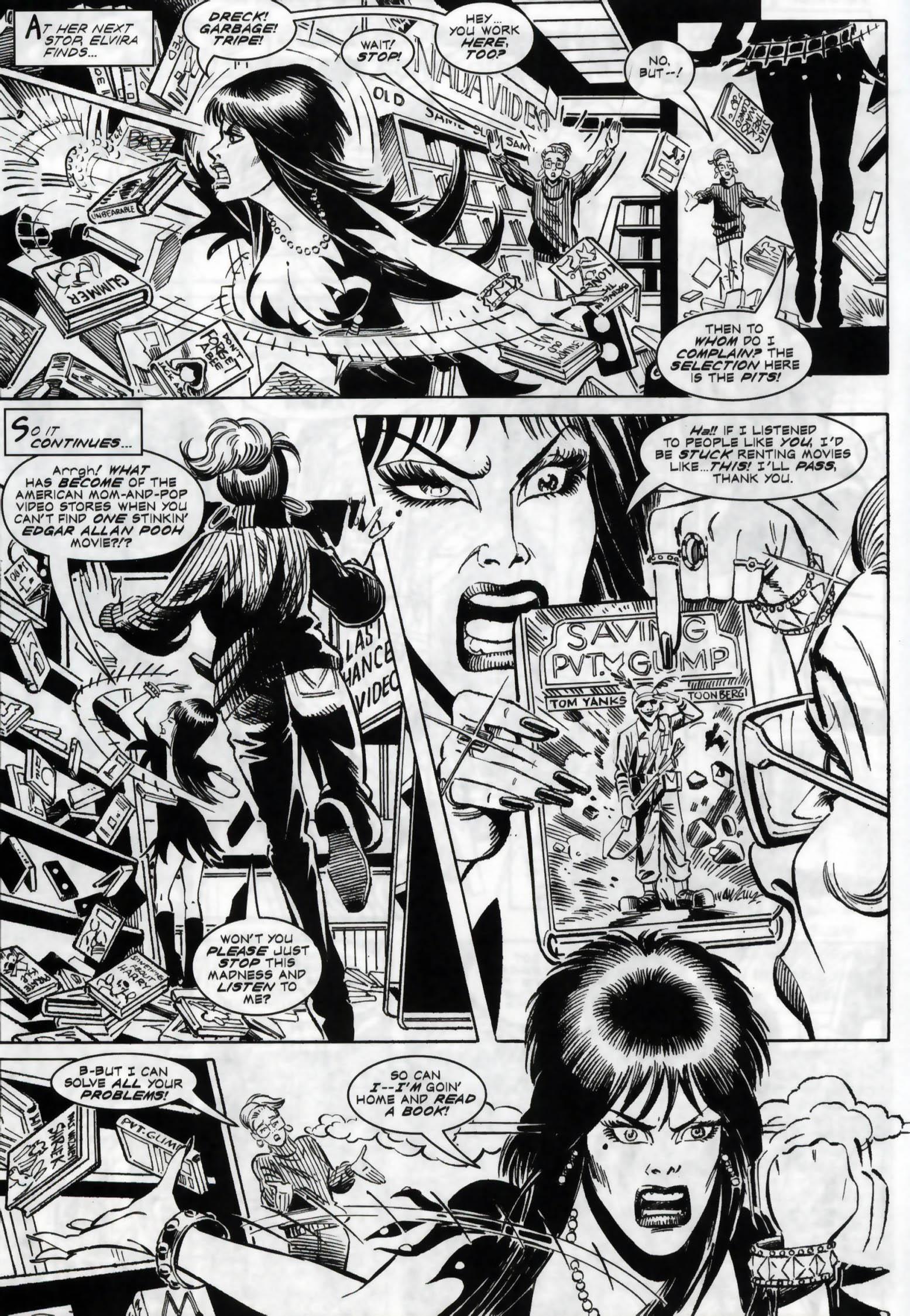 Read online Elvira, Mistress of the Dark comic -  Issue #118 - 4