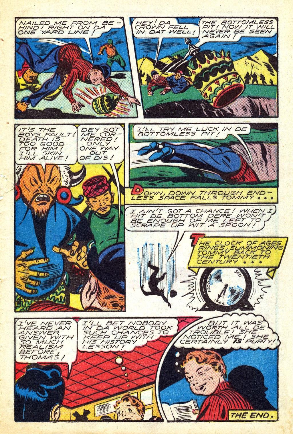 Read online Mystic Comics (1944) comic -  Issue #3 - 25
