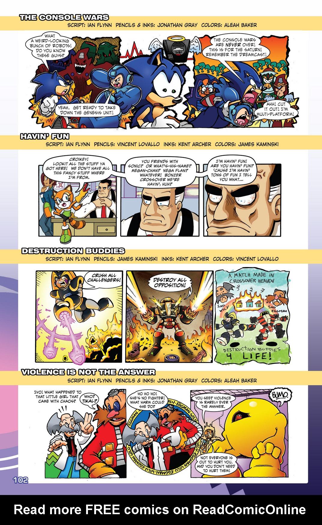 Read online Sonic Mega Man Worlds Collide comic -  Issue # Vol 2 - 120