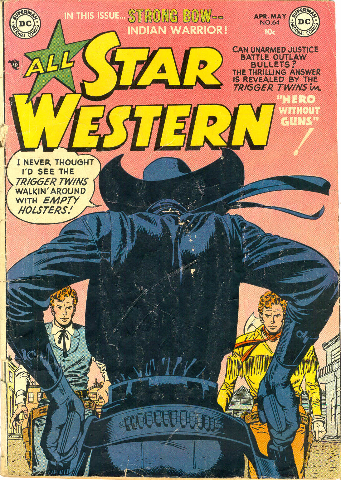 Read online All-Star Western (1951) comic -  Issue #64 - 1