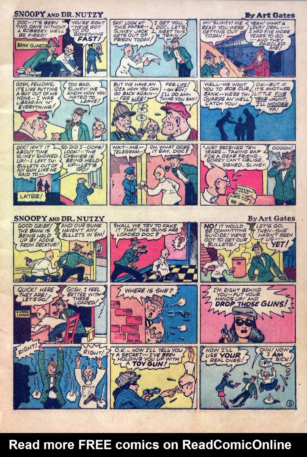 Read online Joker Comics comic -  Issue #1 - 7
