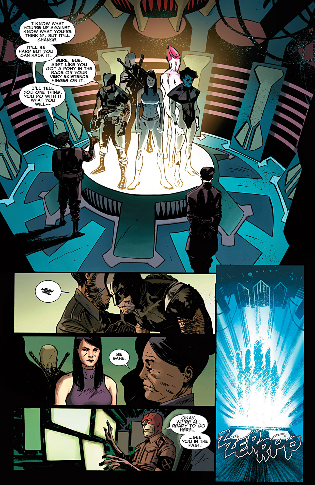 Read online Uncanny X-Force (2010) comic -  Issue #29 - 19