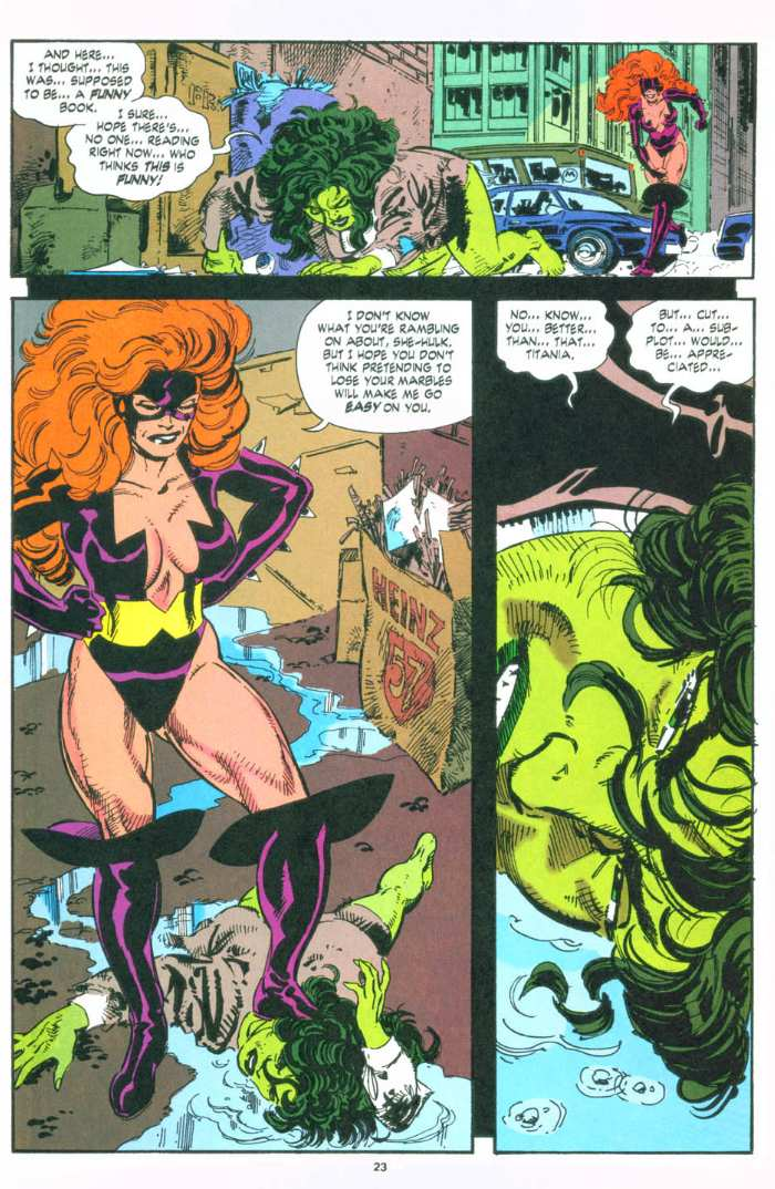 The Sensational She-Hulk Issue #49 #49 - English 20