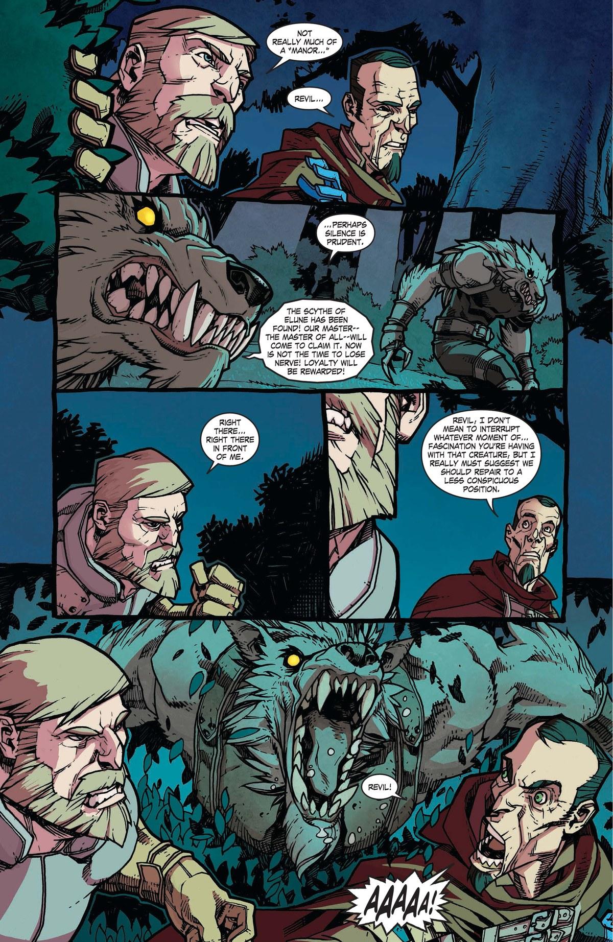 Read online World of Warcraft: Dark Riders comic -  Issue # Full - 46