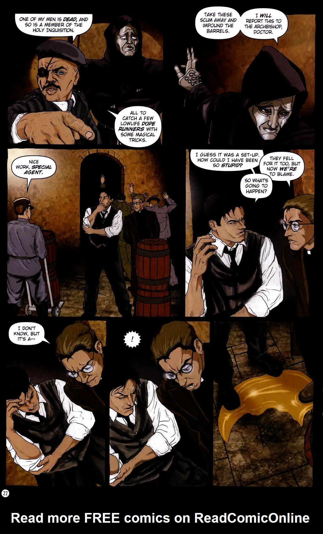 Read online Rex Mundi comic -  Issue #14 - 26