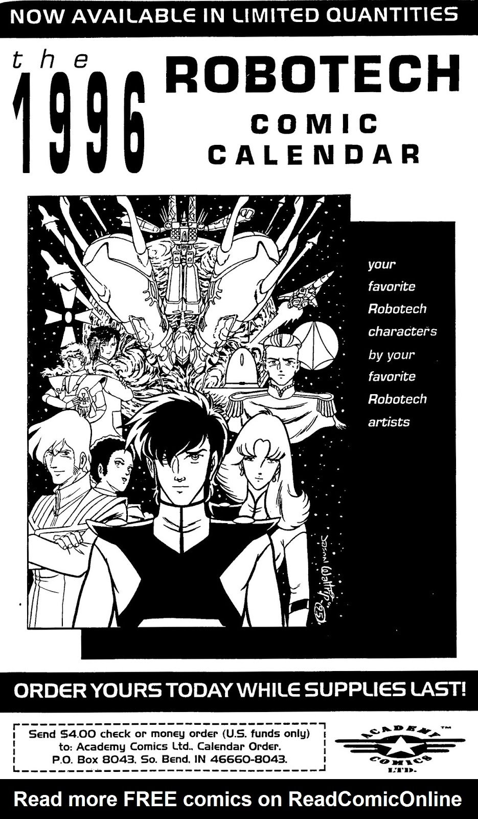 Read online Robotech: Mordecai comic -  Issue # Full - 9
