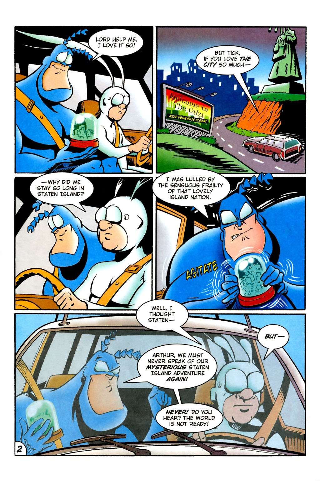 Read online The Tick: Days of Drama comic -  Issue #1 - 6