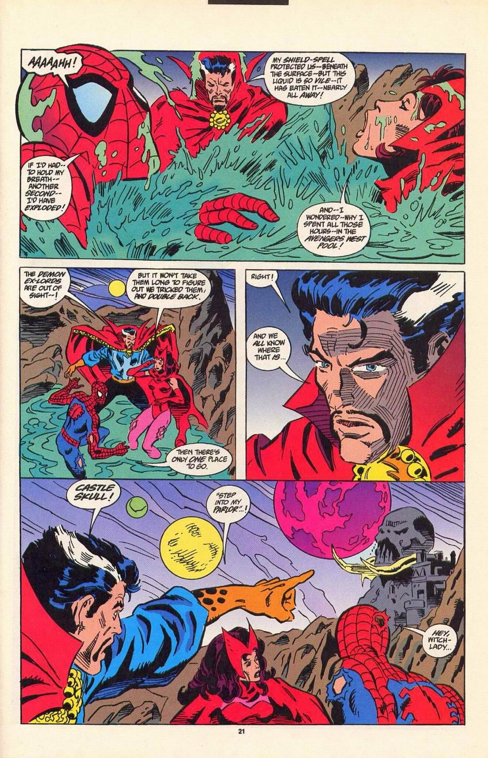 Read online Secret Defenders comic -  Issue #7 - 16
