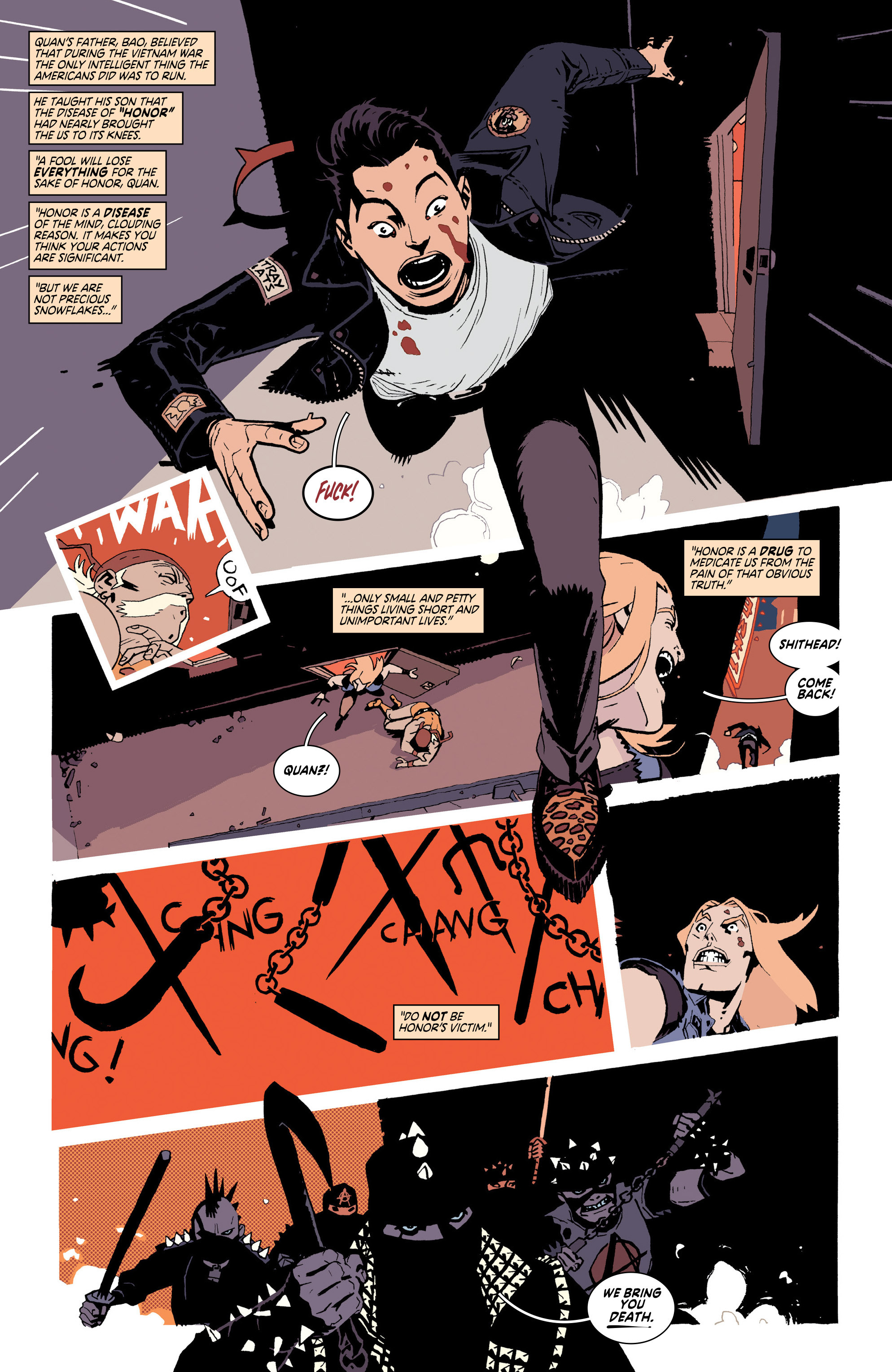 Read online Deadly Class comic -  Issue #25 - 3