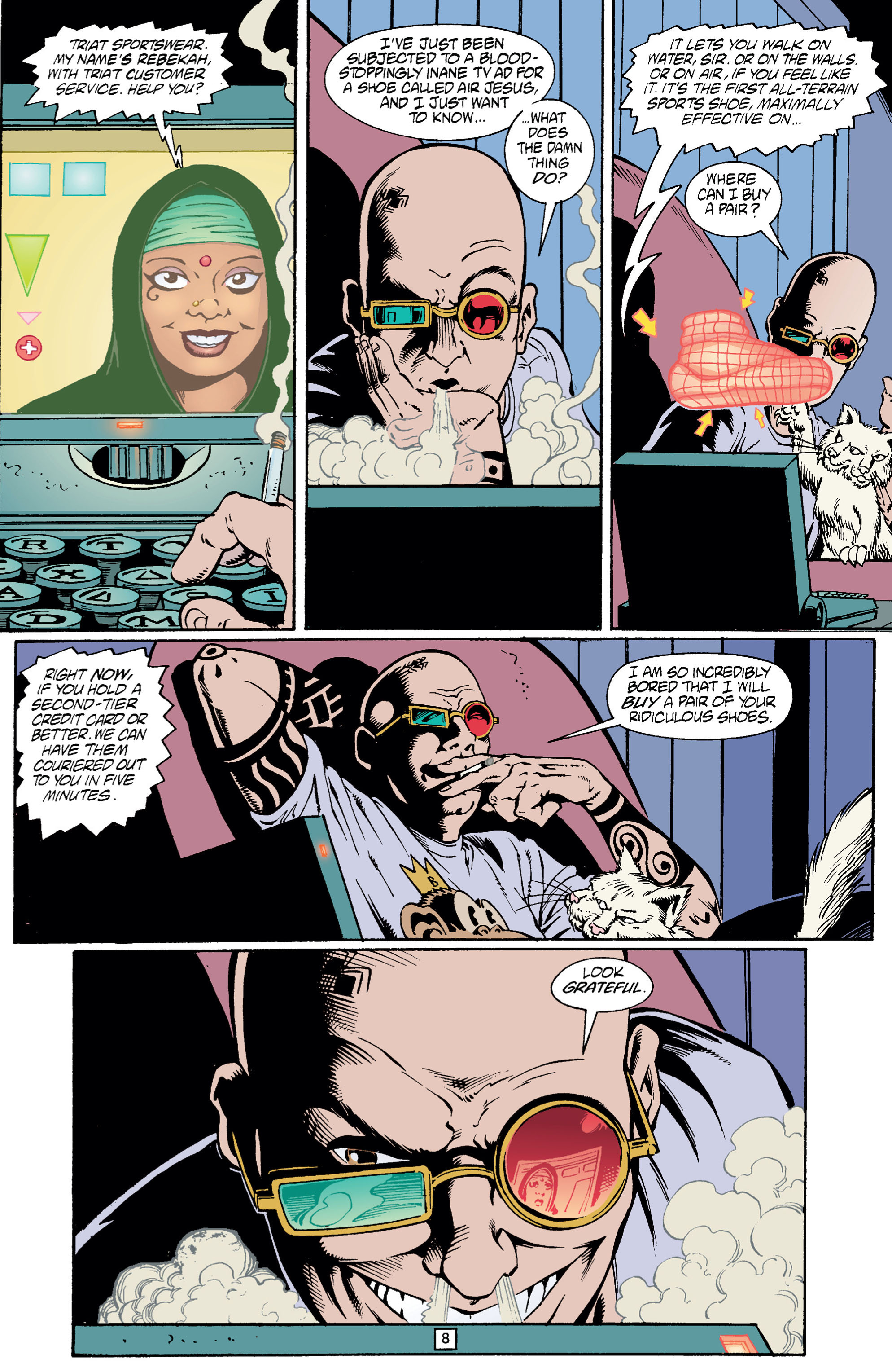 Read online Transmetropolitan comic -  Issue #5 - 9