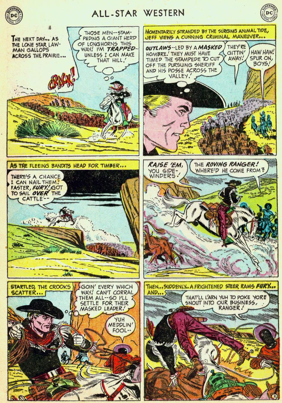 Read online All-Star Western (1951) comic -  Issue #63 - 12