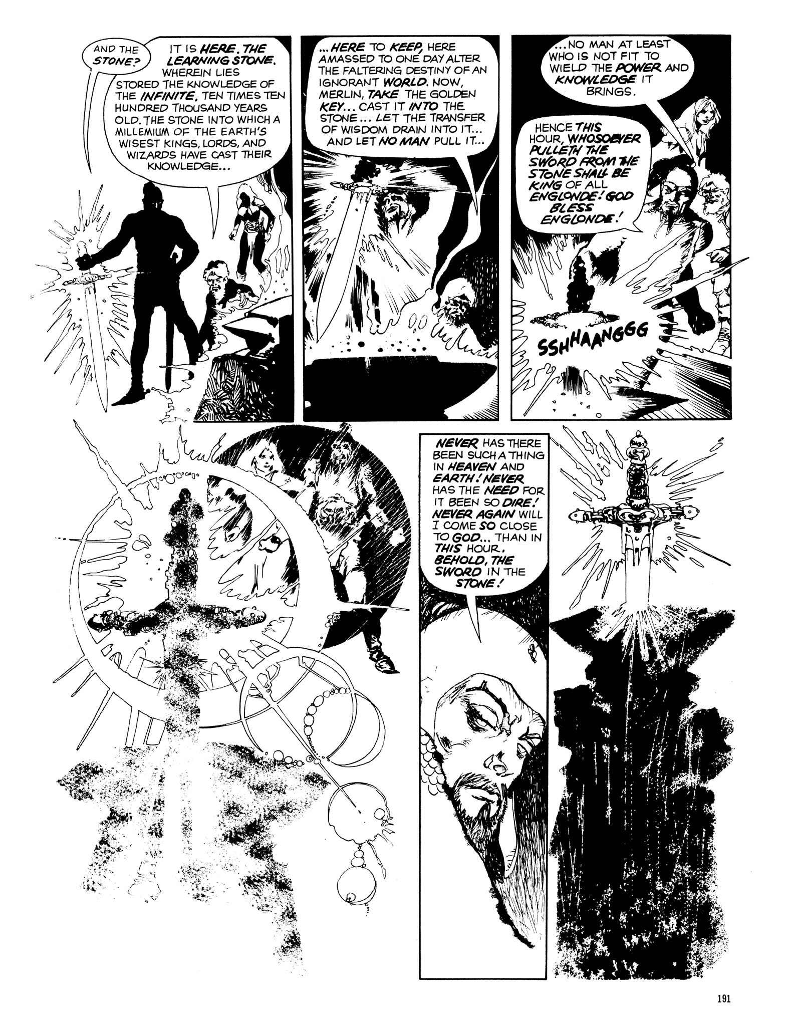 Read online Eerie Archives comic -  Issue # TPB 14 - 192