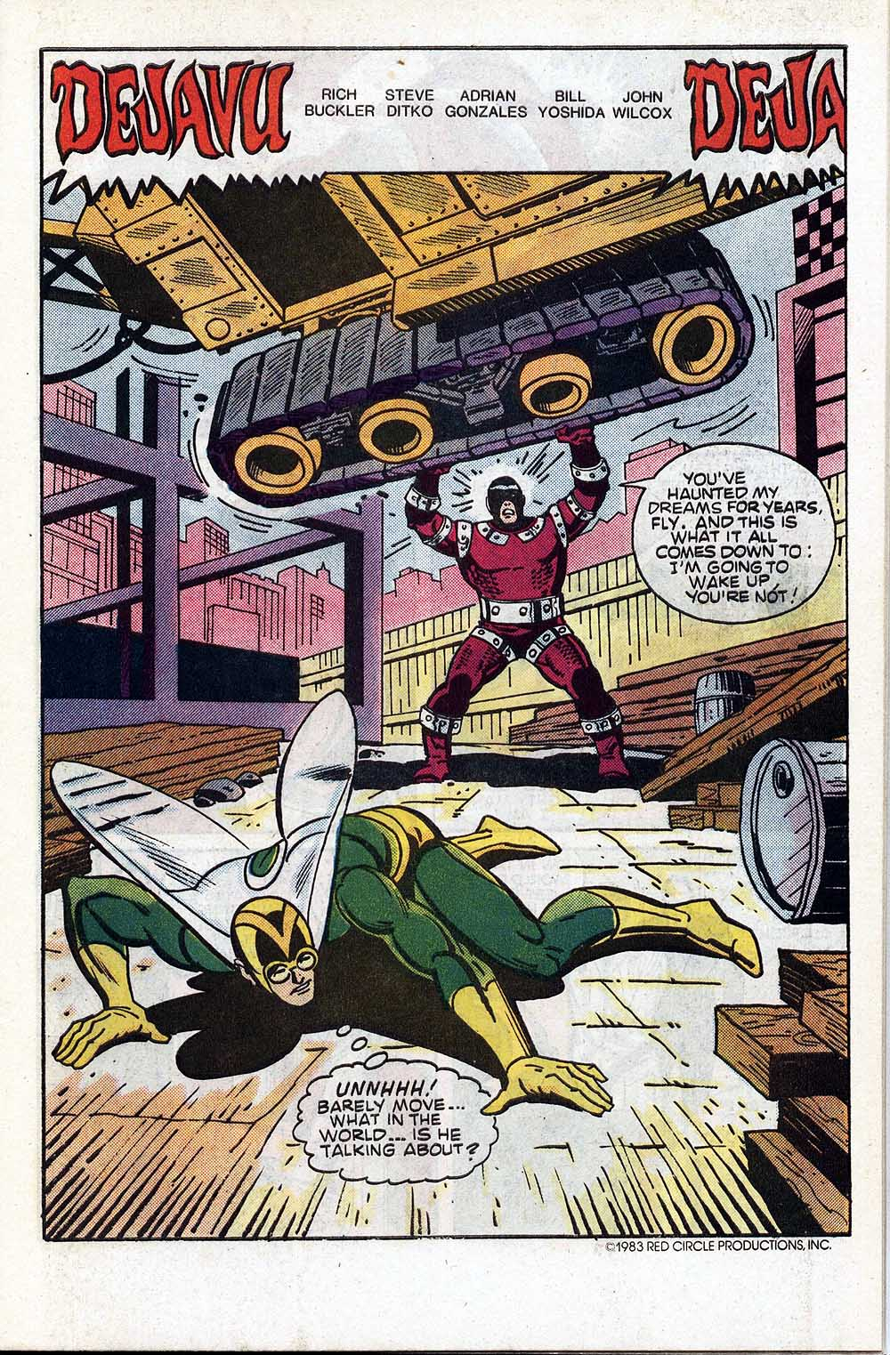 Read online The Fly (1983) comic -  Issue #4 - 3