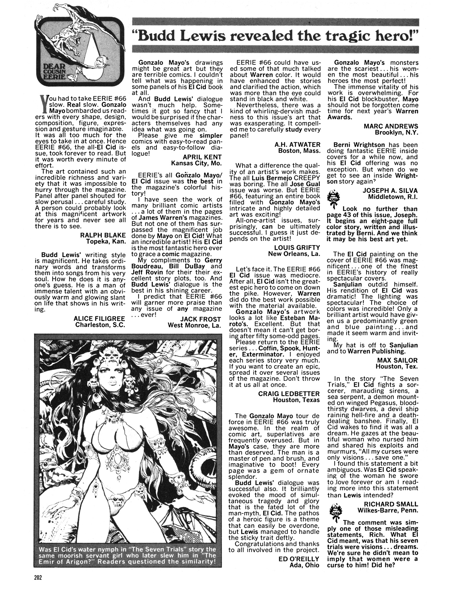 Read online Eerie Archives comic -  Issue # TPB 14 - 203
