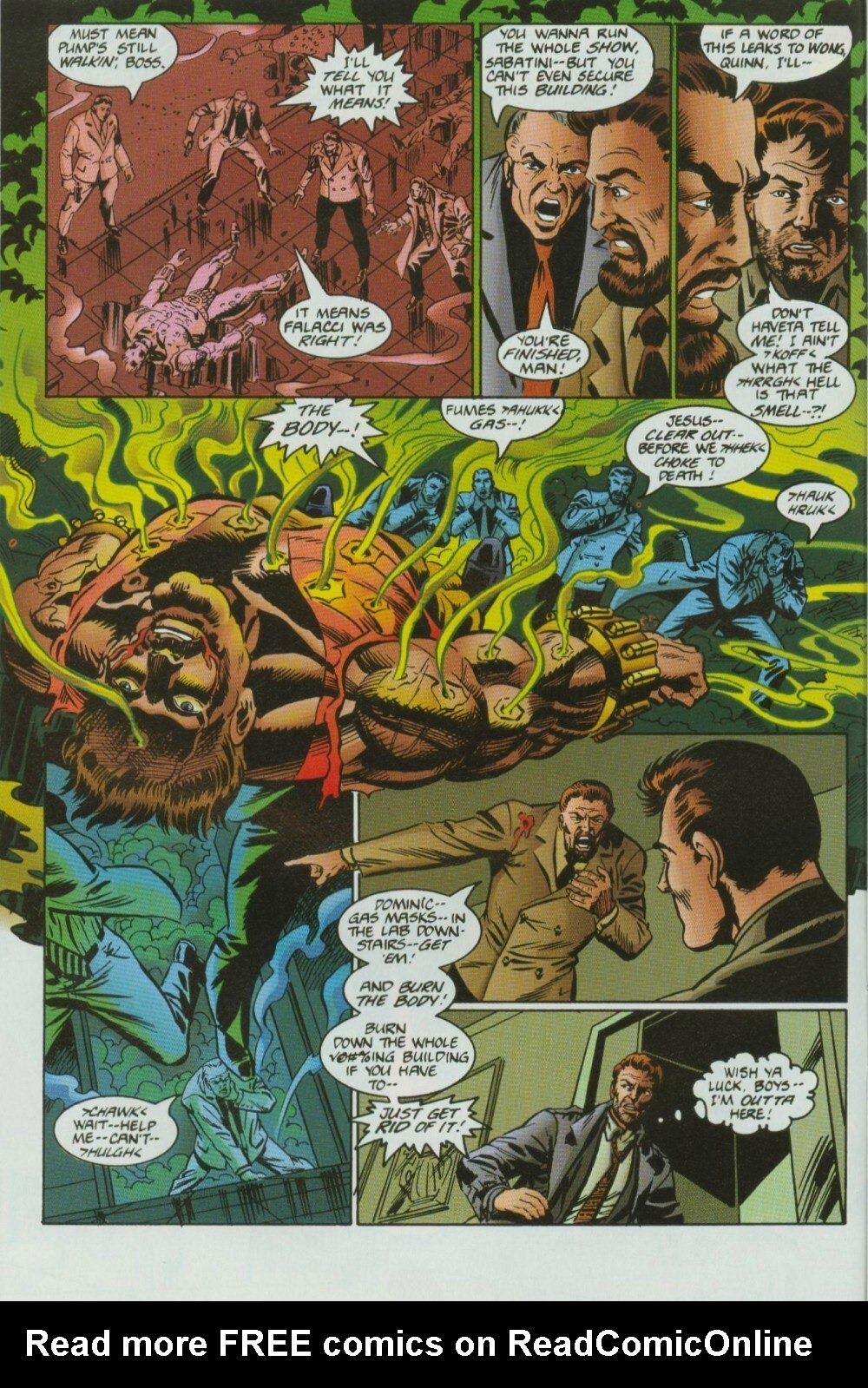 Read online Sludge comic -  Issue #9 - 14