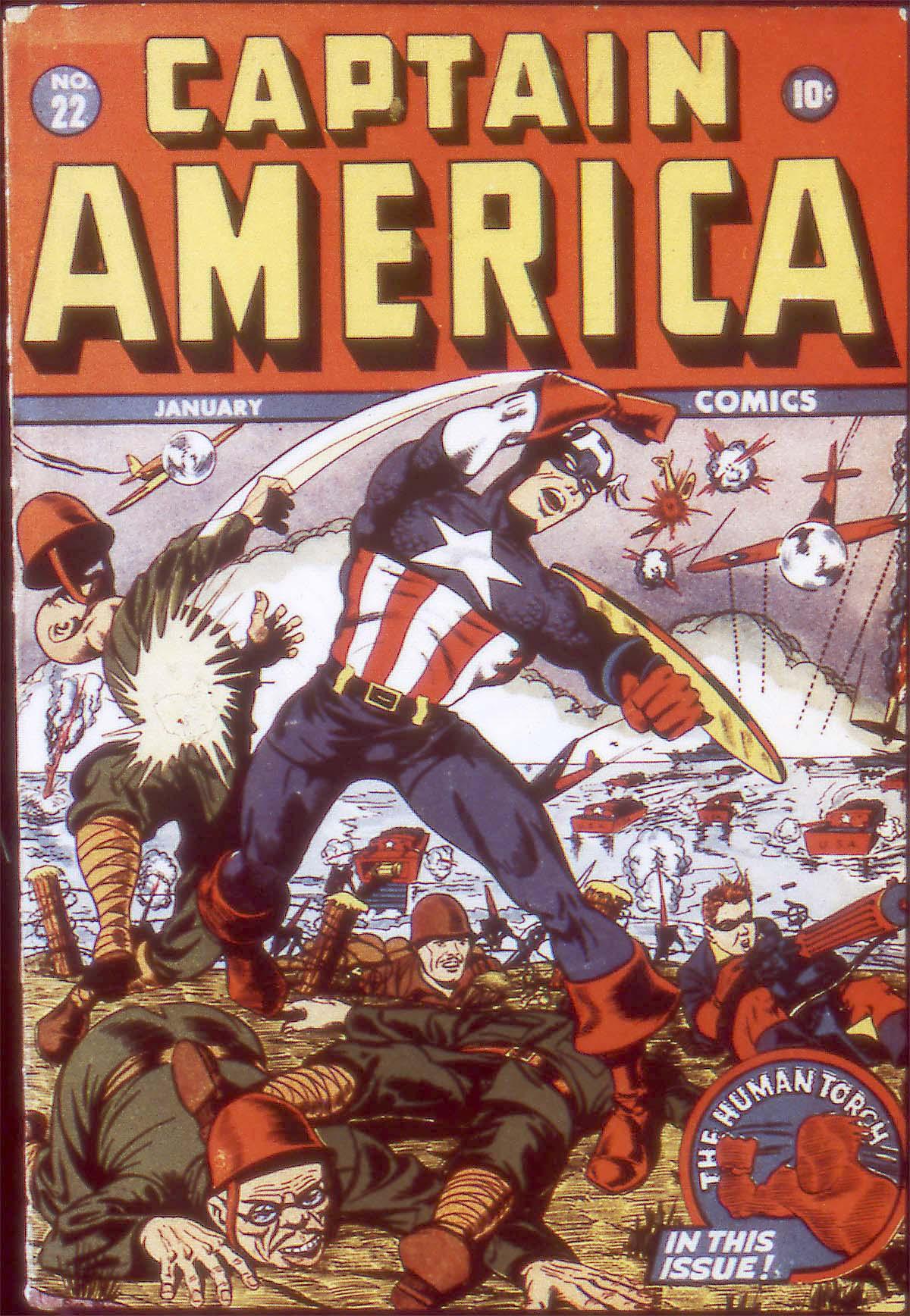 Captain America Comics 22 Page 1