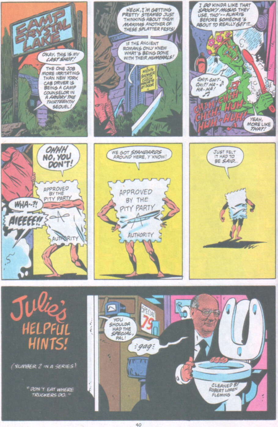 Read online Ambush Bug Nothing Special comic -  Issue # Full - 33