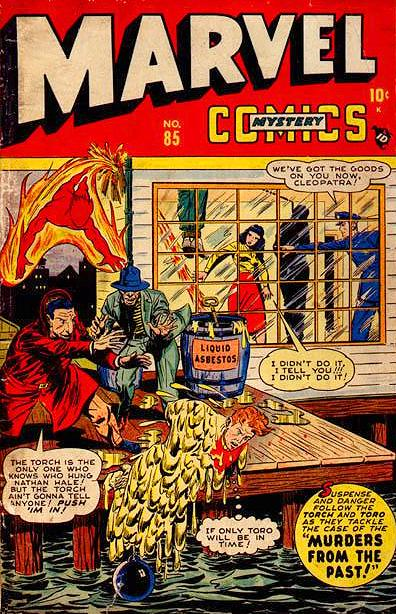 Marvel Mystery Comics 85 Page 1