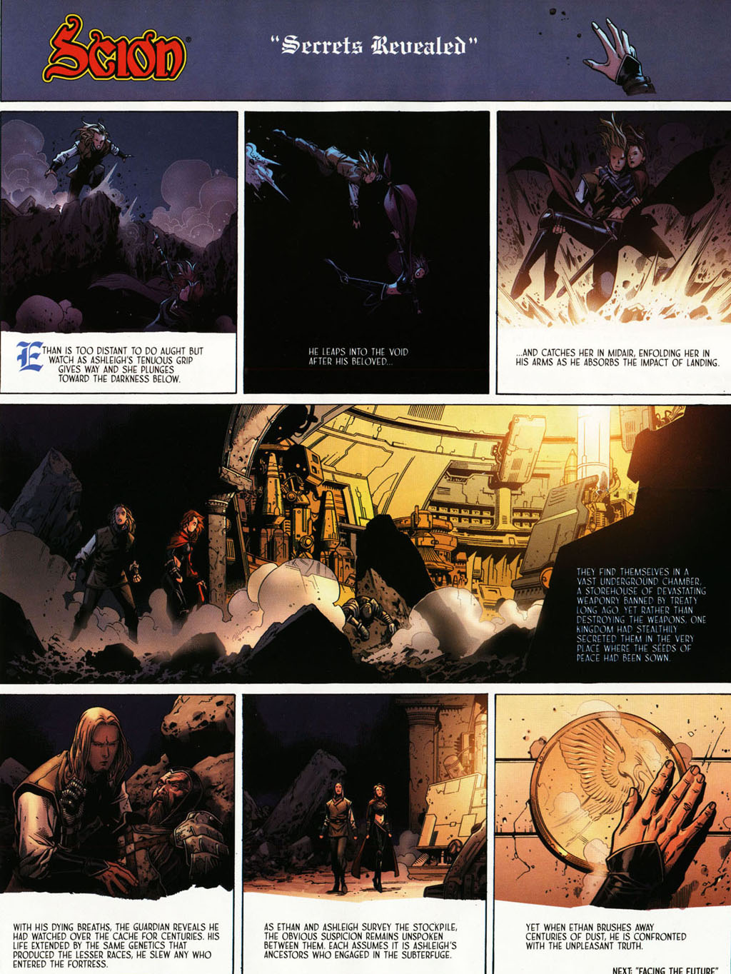 Read online Scion comic -  Issue #39 - 11