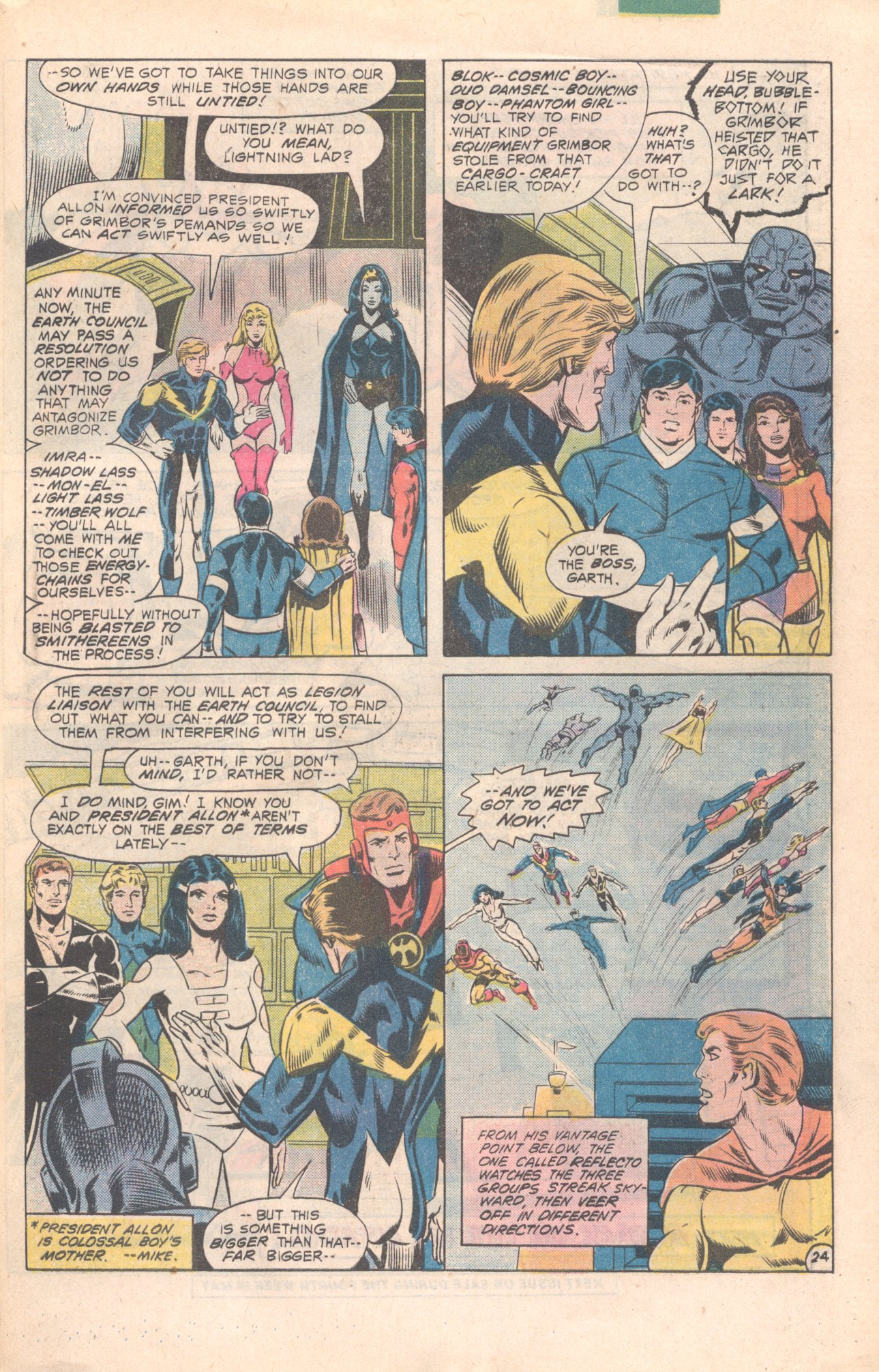 Legion of Super-Heroes (1980) 277 Page 24