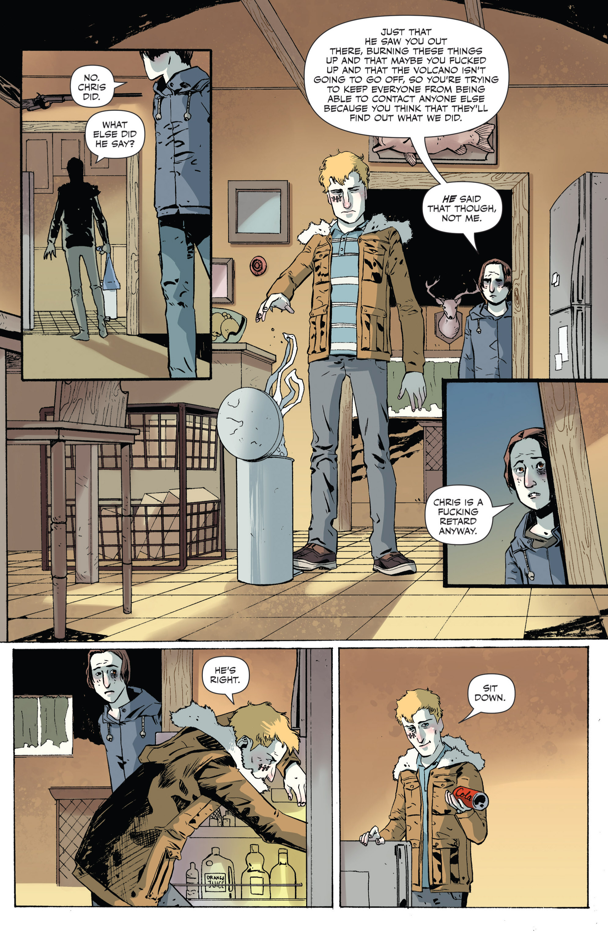 Read online Sheltered comic -  Issue #4 - 14