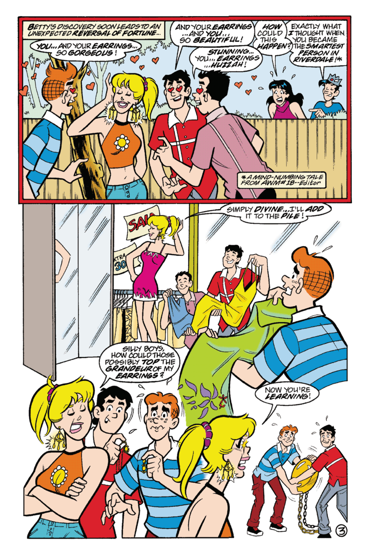 Read online Archie's Weird Mysteries comic -  Issue #21 - 5