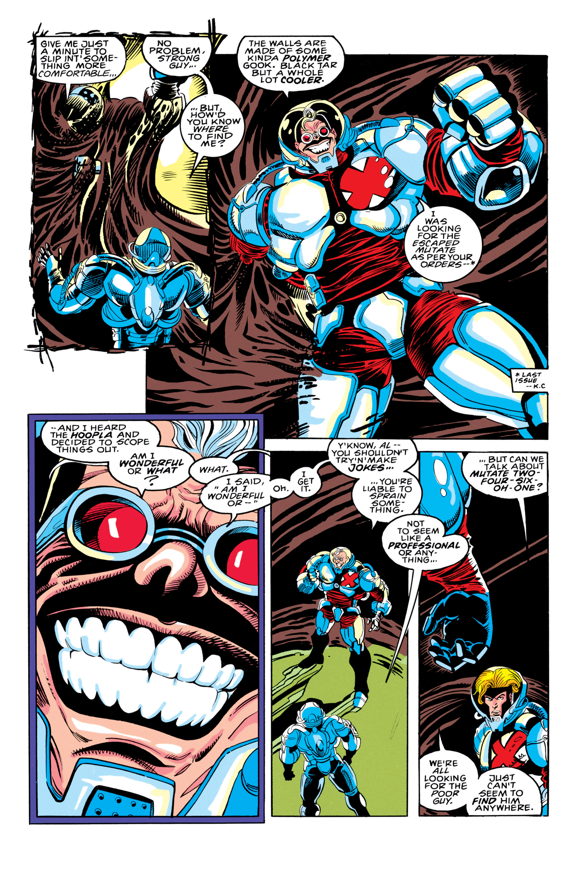 Read online X-Factor (1986) comic -  Issue #91 - 4