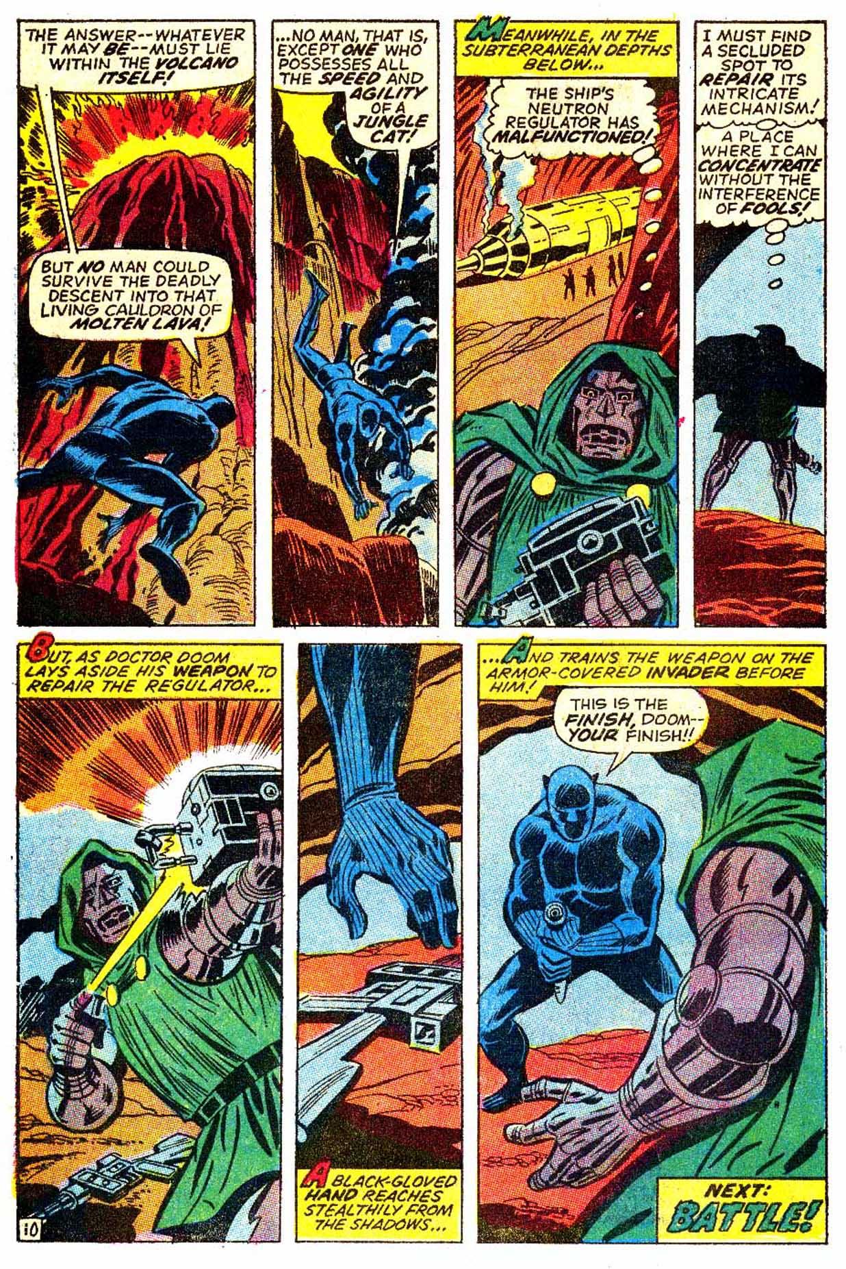 Read online Astonishing Tales (1970) comic -  Issue #6 - 11