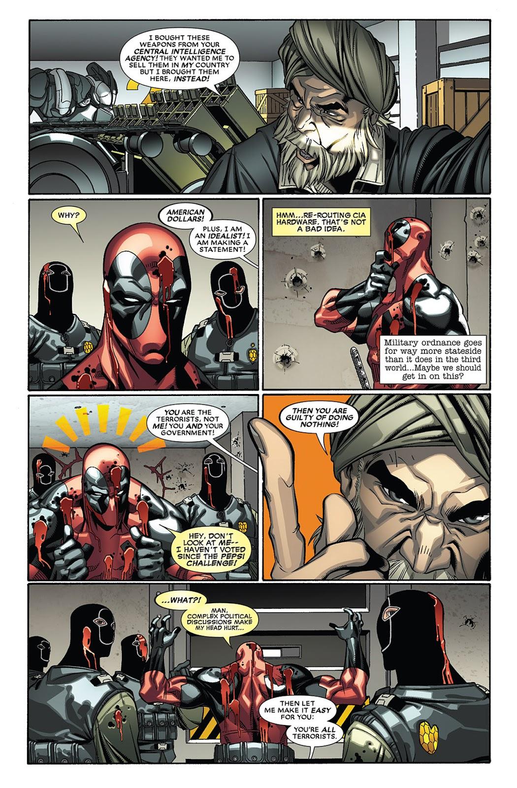 Read online Deadpool (2008) comic -  Issue #27 - 14