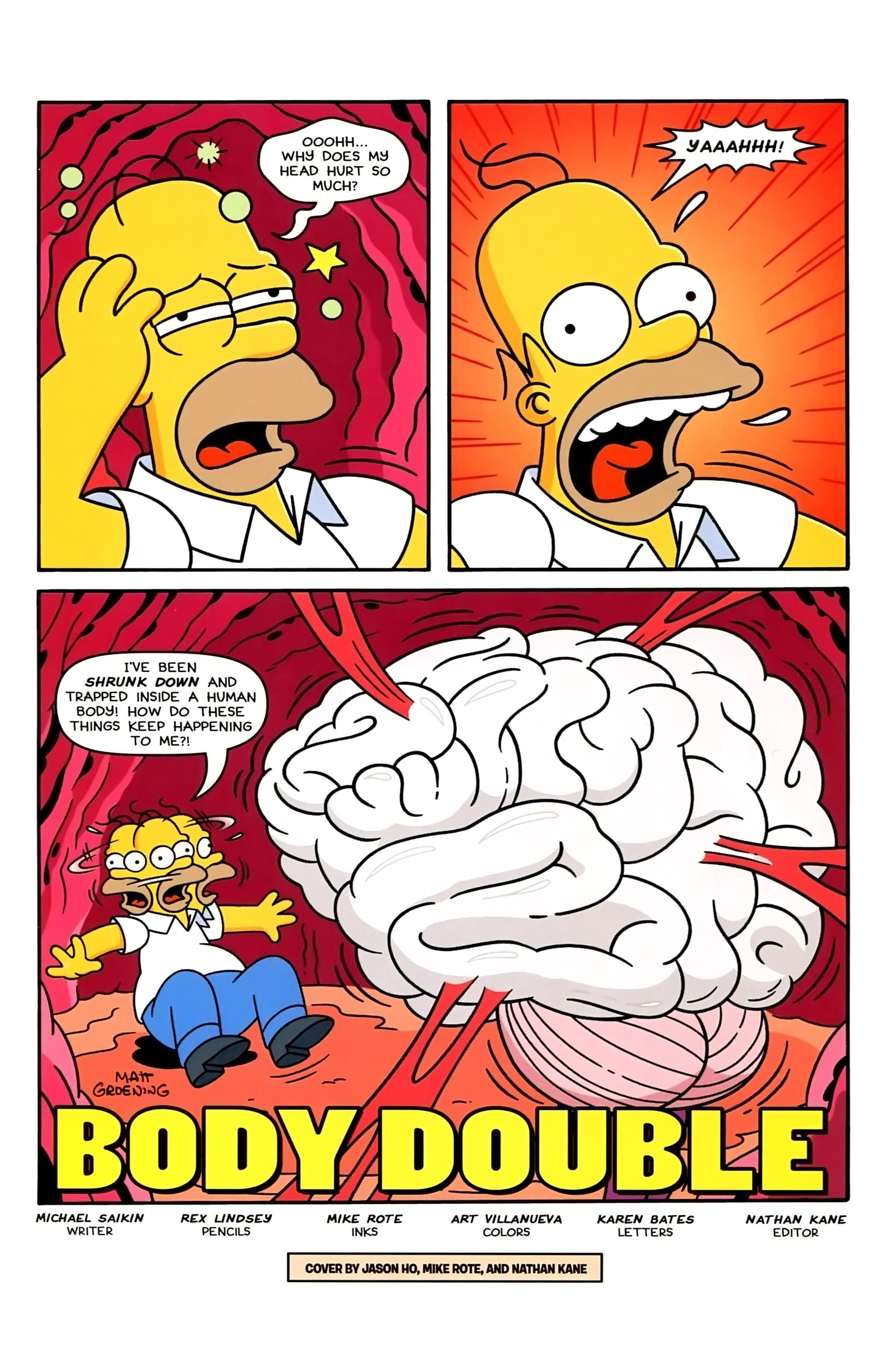 Read online Simpsons Comics comic -  Issue #234 - 3