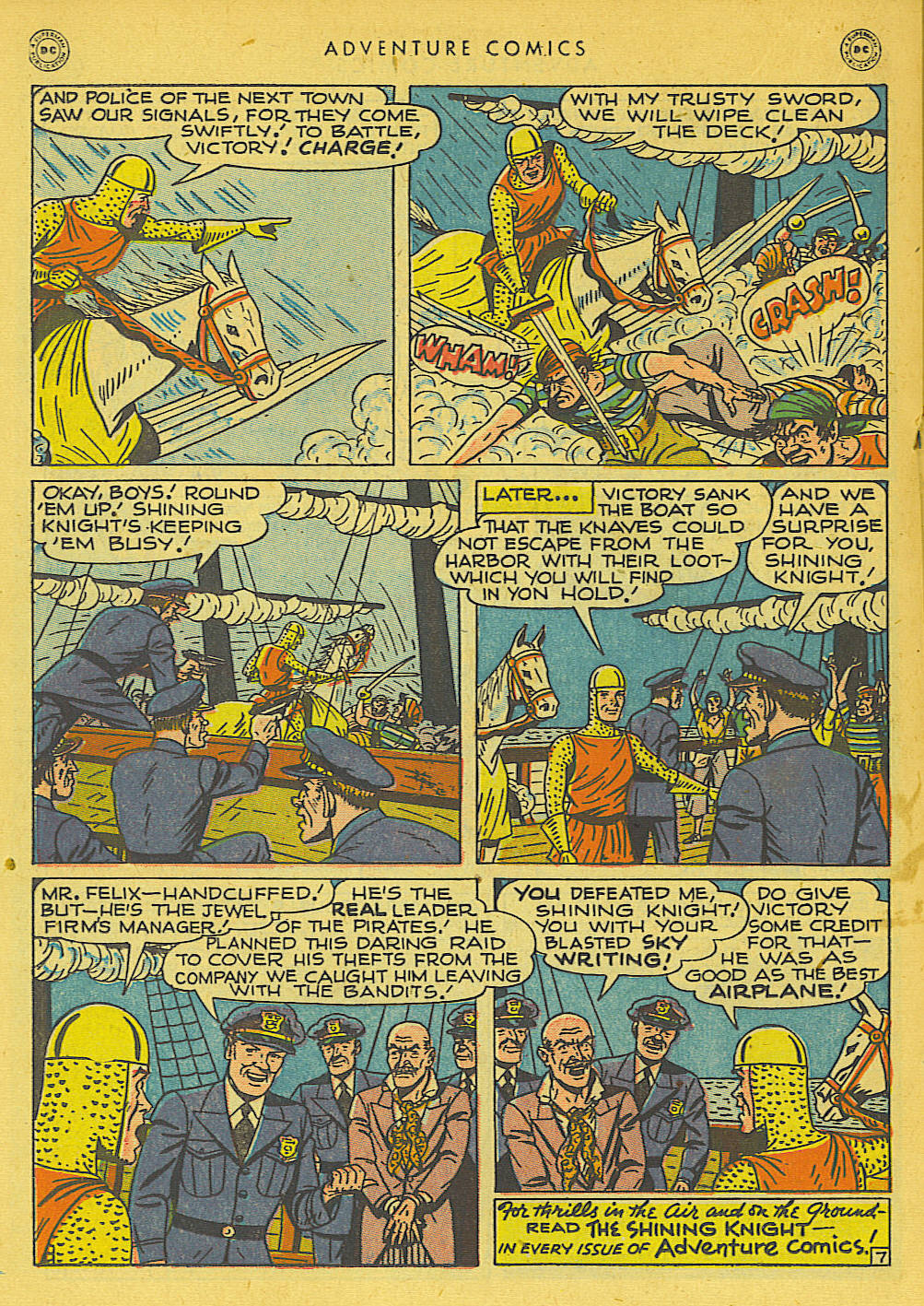 Read online Adventure Comics (1938) comic -  Issue #131 - 24