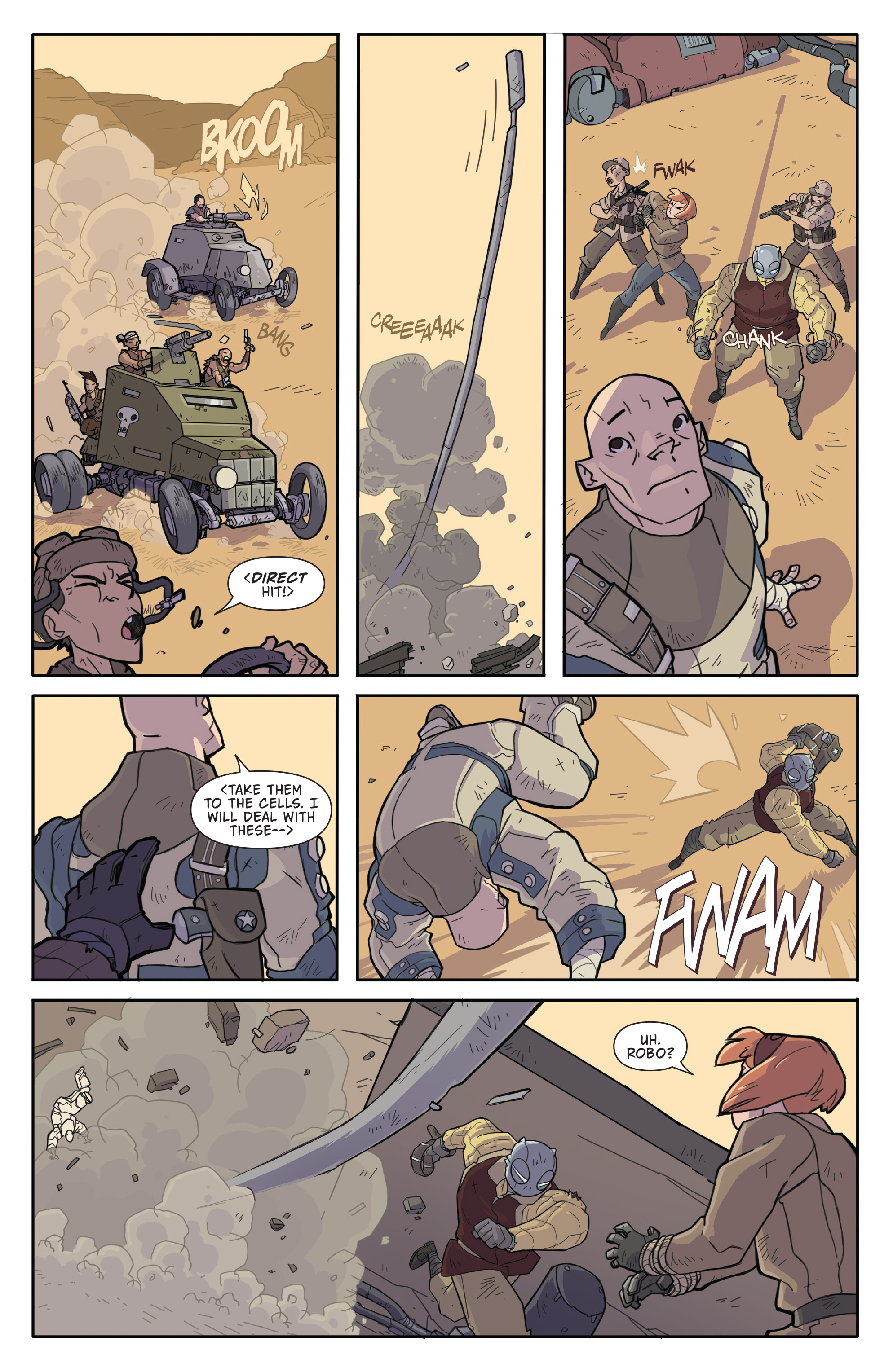 Read online Atomic Robo and the Temple of Od comic -  Issue #2 - 11
