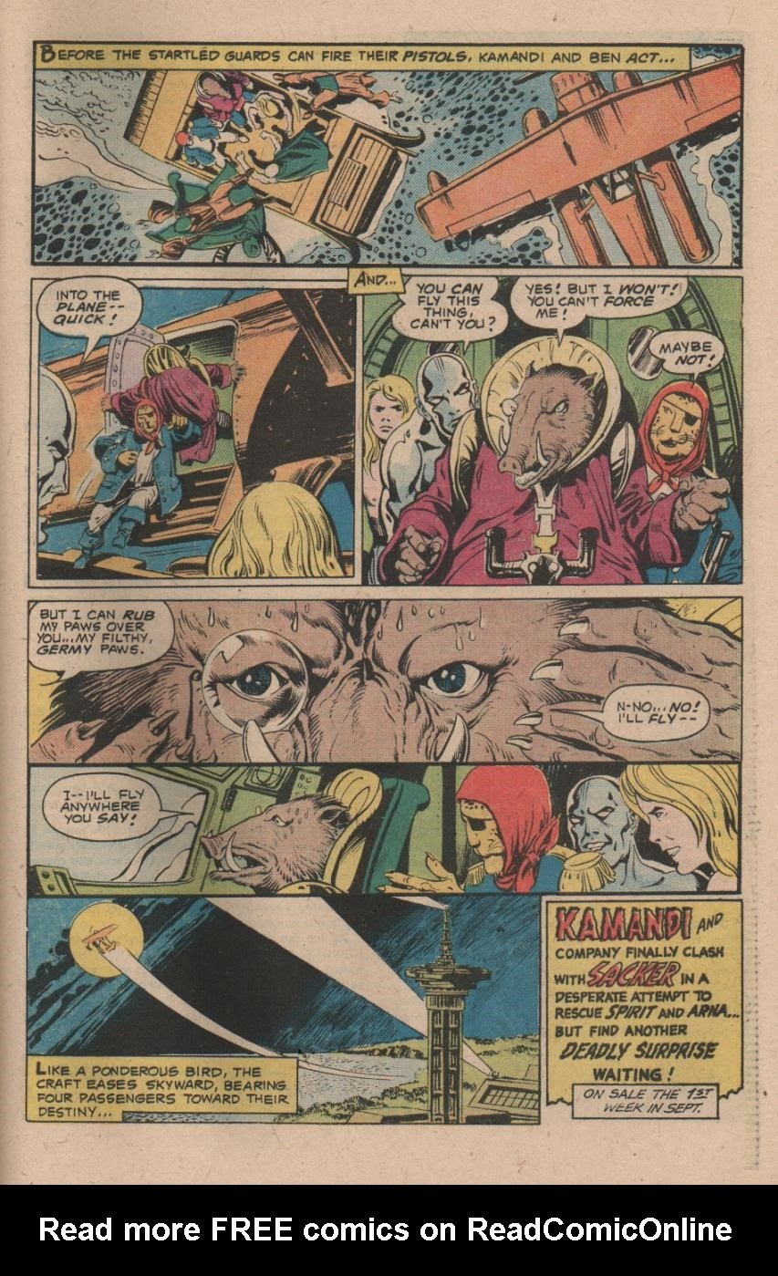 Kamandi, The Last Boy On Earth issue 47 - Page 31
