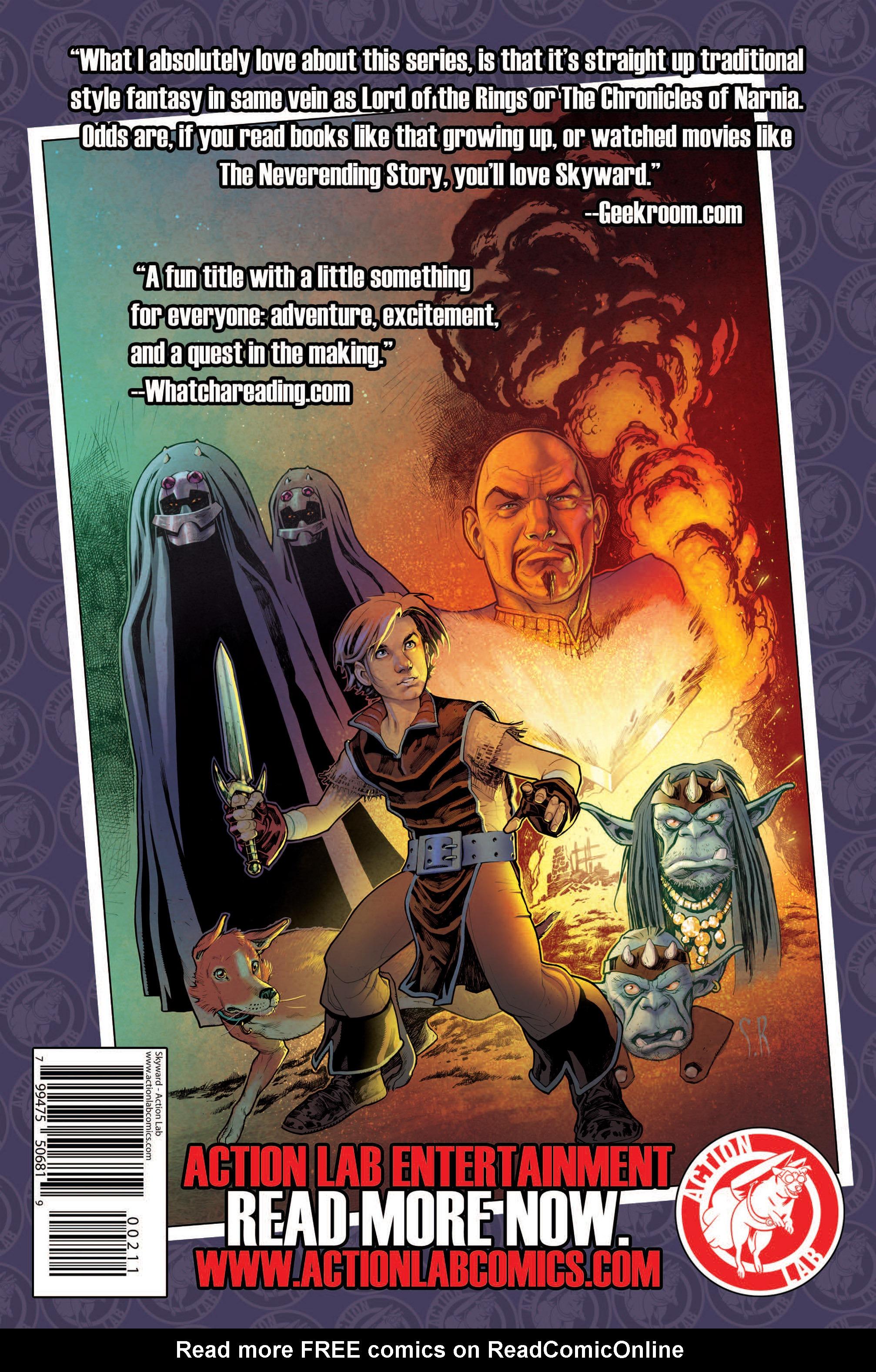 Read online Skyward comic -  Issue #2 - 31