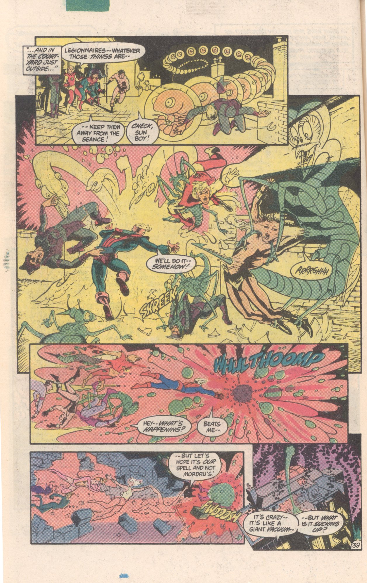 Legion of Super-Heroes (1980) 300 Page 39