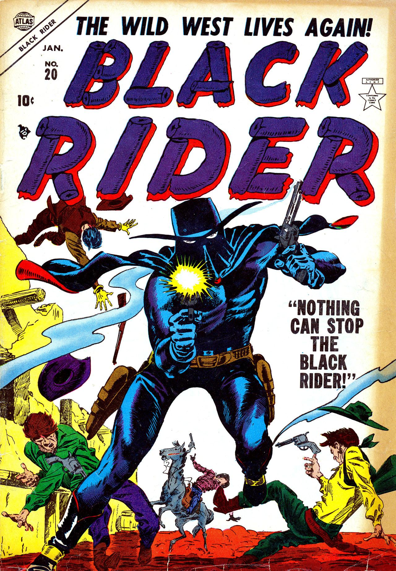 Black Rider 20 Page 1