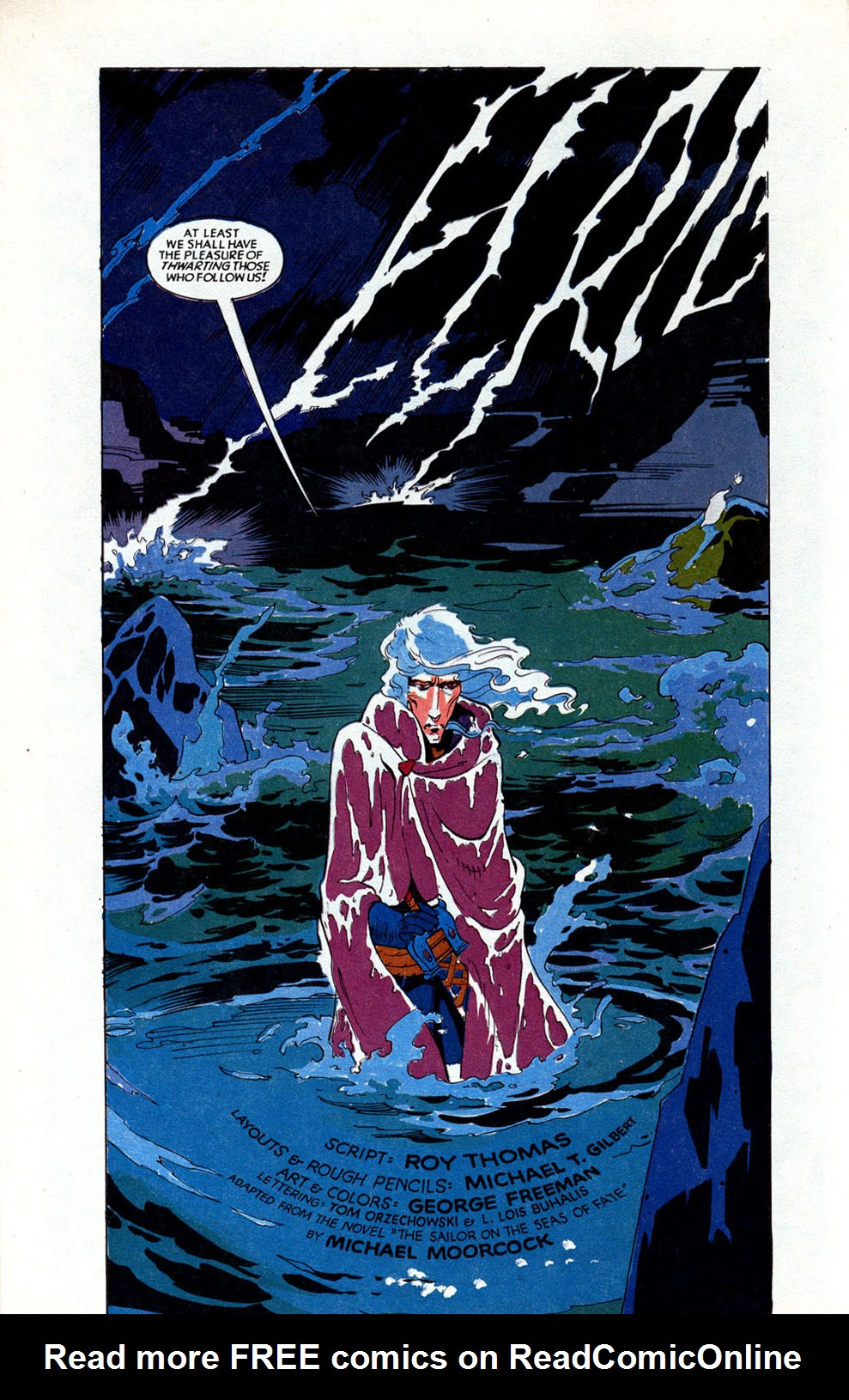 Read online Elric: Sailor on the Seas of Fate comic -  Issue #1 - 6