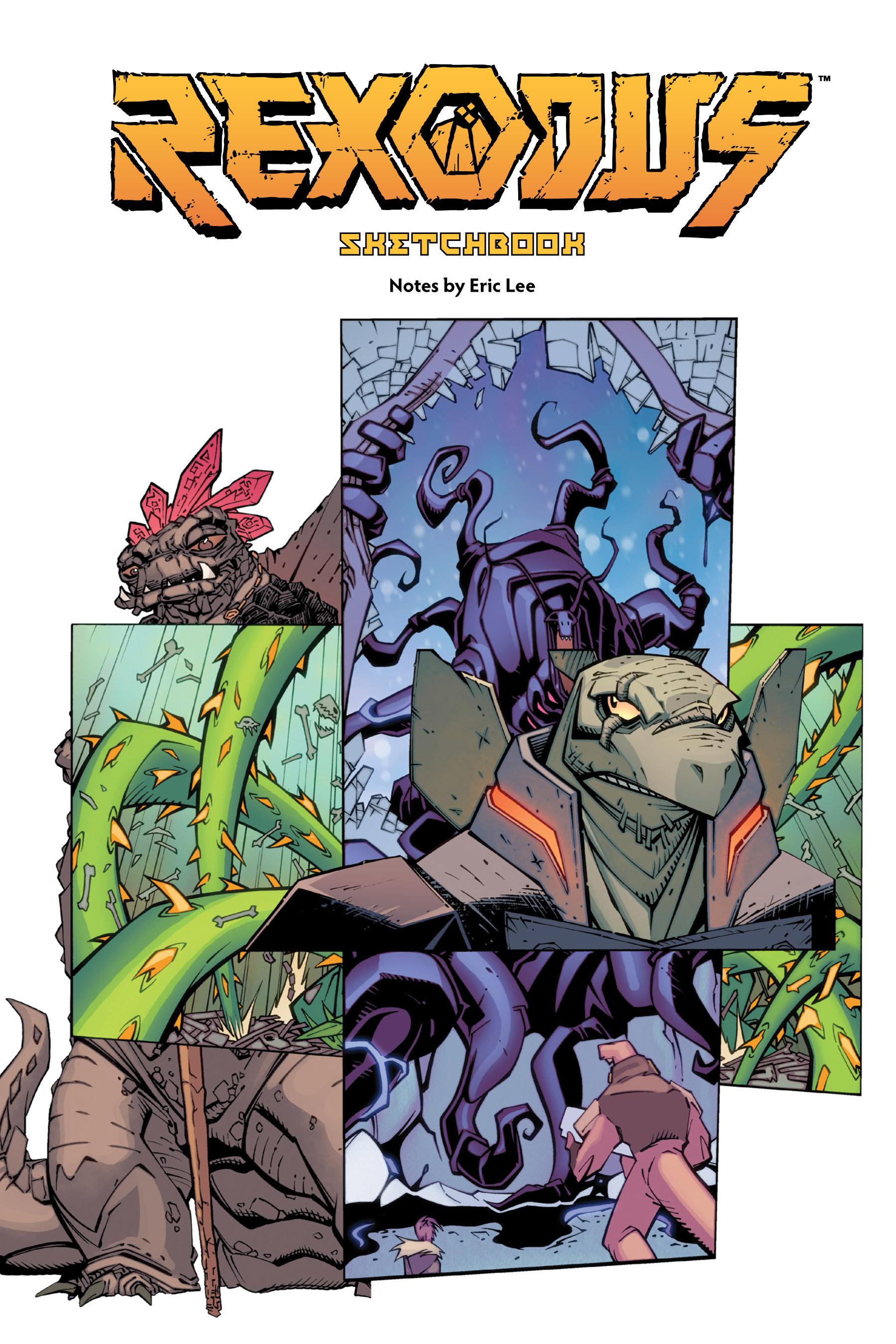 Read online Rexodus comic -  Issue # Full - 111