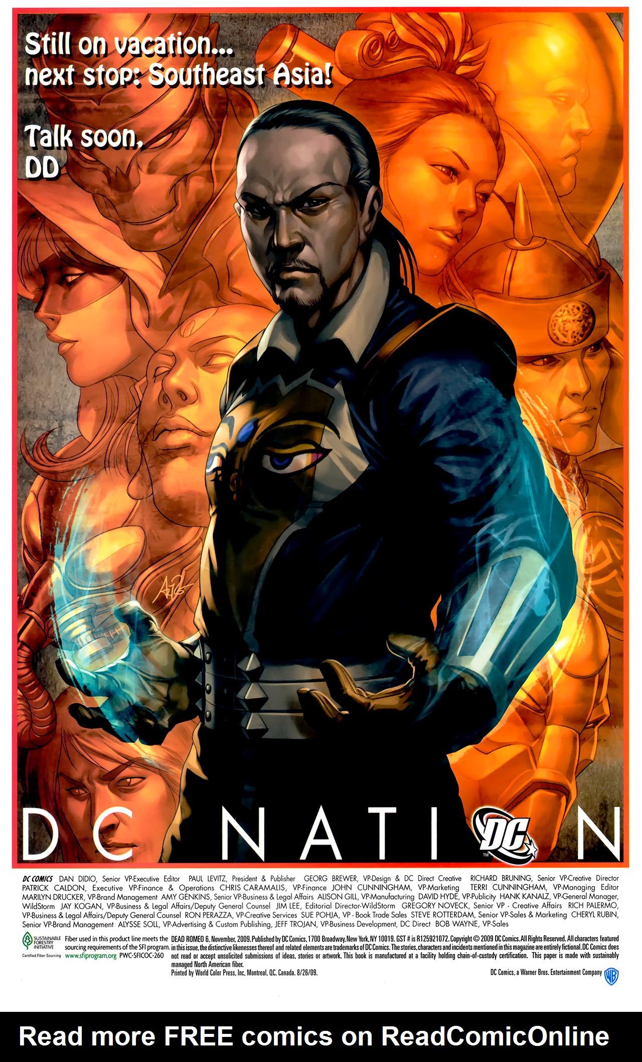 Read online Dead Romeo comic -  Issue #6 - 23