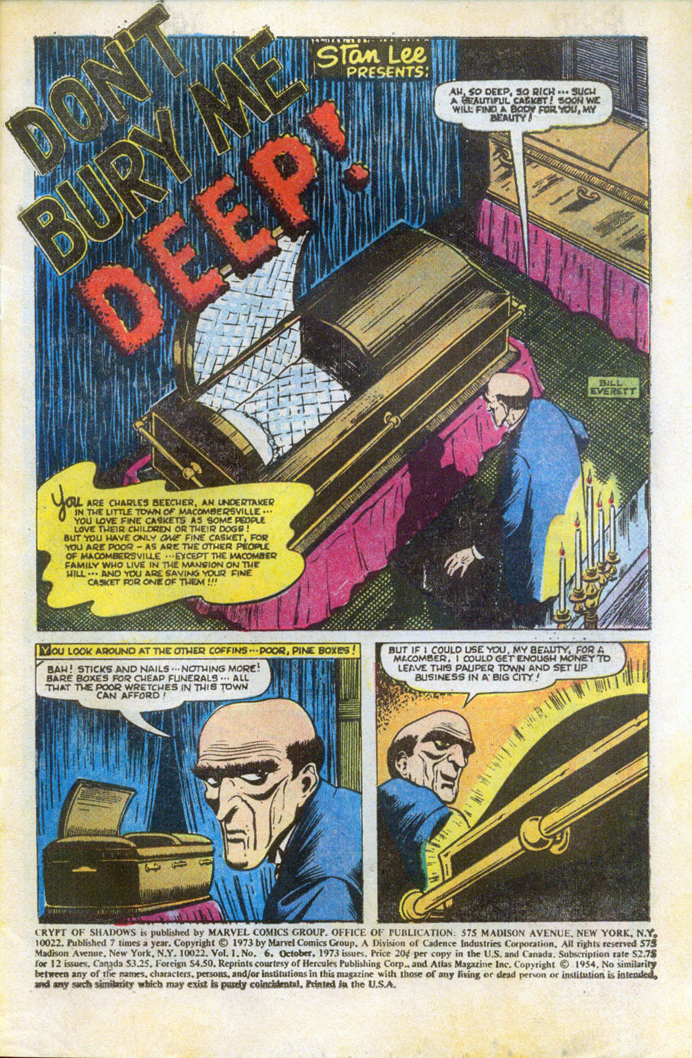 Crypt of Shadows (1973) issue 6 - Page 3
