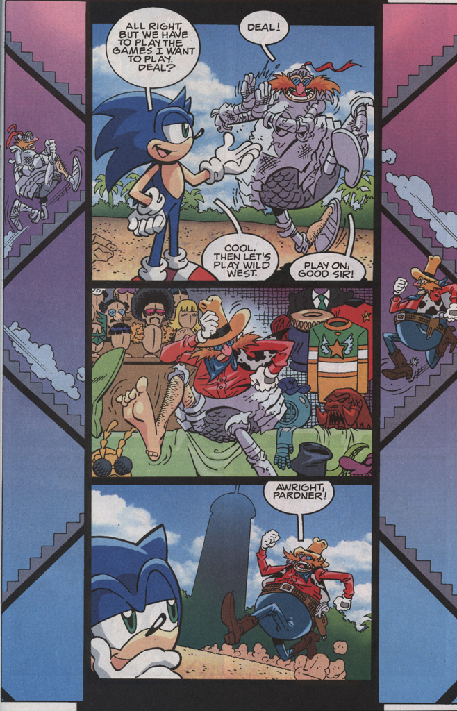 Read online Sonic X comic -  Issue #35 - 23