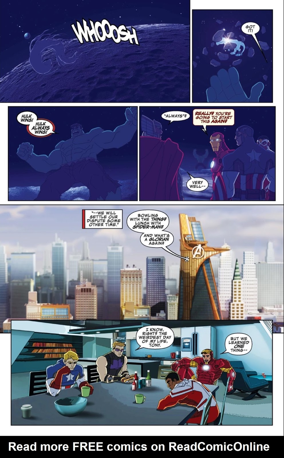 Read online Marvel Universe Avengers Assemble Season 2 comic -  Issue #3 - 21